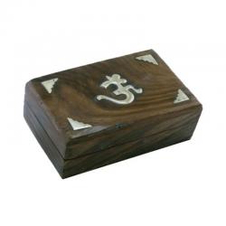 Tarotdoos hout OHM 15x10x4 cm